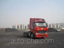 Sinotruk Howo ZZ4257V3247P1Z container transport tractor unit