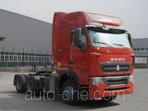 豪沃牌ZZ4257V324HD1Z型集装箱半挂牵引车
