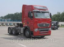 Sinotruk Howo ZZ4257V324HE1Z container carrier vehicle