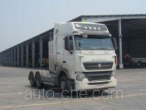 Sinotruk Howo ZZ4257V384HE1LW седельный тягач для перевозки опасных грузов