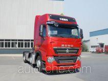 Sinotruk Howo ZZ4257W25CHE1W седельный тягач для перевозки опасных грузов