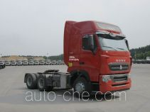 Sinotruk Howo ZZ4257W323HE1Z container carrier vehicle