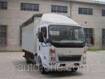 Sinotruk Howo ZZ5047CPYC2814D137 soft top box van truck