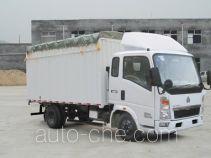 Sinotruk Howo ZZ5047CPYD3413D145 soft top box van truck