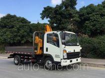 Sinotruk Howo ZZ5047JSQF341CE145 грузовик с краном-манипулятором (КМУ)