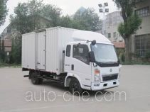 Sinotruk Howo ZZ5047XXYD3614D145 box van truck