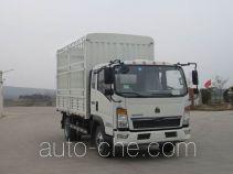 Sinotruk Howo ZZ5087CCYF3314E183 грузовик с решетчатым тент-каркасом