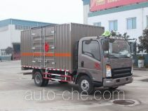 Sinotruk Howo ZZ5087XRYF331CE183 flammable liquid transport van truck