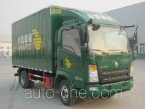Sinotruk Howo ZZ5087XYZG381CE183 postal vehicle