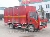 Sinotruk Howo ZZ5107XRQG421CE1 flammable gas transport van truck