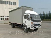 Sinotruk Howo ZZ5127CPYD3815D1 soft top box van truck