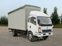 豪泺牌ZZ5127CPYG4715C1型蓬式运输车