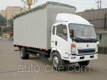 Sinotruk Howo ZZ5127CPYG5215C1 soft top box van truck