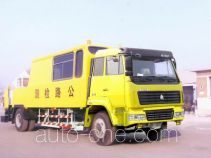 Sida Steyr ZZ5156TLCM6016C1 road testing vehicle