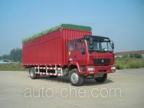 Huanghe ZZ5164XXBG4215C1 soft top box van truck