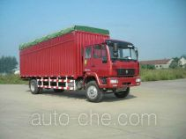 Huanghe ZZ5164XXBG4715C1 soft top box van truck