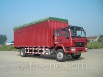 Huanghe ZZ5164XXBG6015C1 soft top box van truck