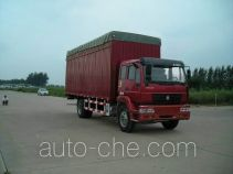 Huanghe ZZ5164XXBK4215C1 soft top box van truck
