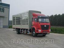 豪瀚牌ZZ5165CCYM5013E1L型仓栅式运输车
