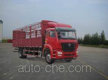 豪瀚牌ZZ5165CCYM5213E1型仓栅式运输车