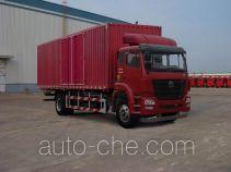 豪瀚牌ZZ5165XXYM5213E1型厢式运输车