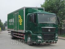 Sinotruk Sitrak ZZ5166XYZK521GD1 postal vehicle