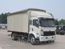 Sinotruk Howo ZZ5167CPYG471CD1 soft top box van truck
