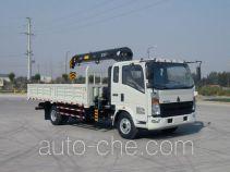 Sinotruk Howo ZZ5167JSQG451CE1 truck mounted loader crane
