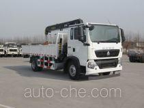 Sinotruk Howo ZZ5167JSQH501GD1 truck mounted loader crane