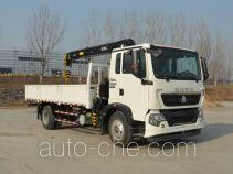 Sinotruk Howo ZZ5167JSQH501GD1H truck mounted loader crane