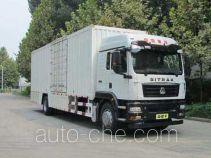 Sinotruk Sitrak ZZ5186XXYN711GE1 box van truck