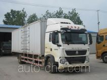 Sinotruk Howo ZZ5187XXYN711GE1 box van truck