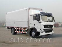 Sinotruk Howo ZZ5187XYKK561GE1 автофургон с подъемными бортами (фургон-бабочка)