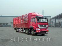 Sida Steyr ZZ5251CCYM42CGE1L грузовик с решетчатым тент-каркасом