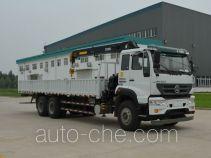 Sida Steyr ZZ5251JSQM574GD1 грузовик с краном-манипулятором (КМУ)