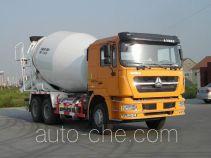 斯达-斯太尔牌ZZ5253GJBN3841D1L型混凝土搅拌运输车
