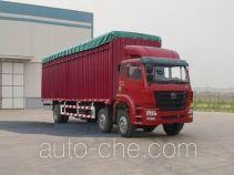 豪瀚牌ZZ5255CPYK42C3C1型蓬式运输车