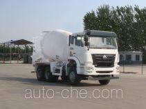 豪瀚牌ZZ5255GJBK3243D1型混凝土搅拌运输车