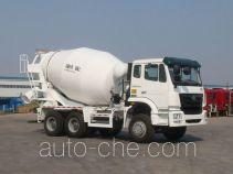 豪瀚牌ZZ5255GJBM3246C1型混凝土搅拌运输车