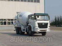 豪瀚牌ZZ5255GJBM3646C1型混凝土搅拌运输车