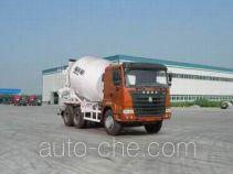 豪运牌ZZ5255GJBM4345C2型混凝土搅拌运输车