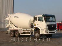 豪瀚牌ZZ5255GJBM4346C1型混凝土搅拌运输车