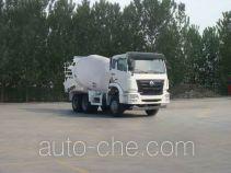 豪瀚牌ZZ5255GJBN3243D1型混凝土搅拌运输车