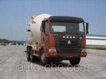 豪运牌ZZ5255GJBN3245C2型混凝土搅拌运输车
