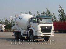 豪瀚牌ZZ5255GJBN3246C1型混凝土搅拌运输车