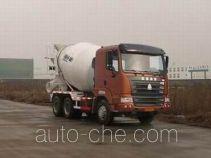 豪运牌ZZ5255GJBN3645C型混凝土搅拌运输车