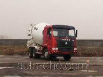 豪运牌ZZ5255GJBN3845C型混凝土搅拌运输车