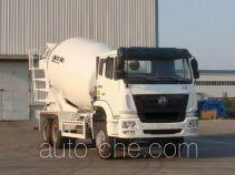 豪瀚牌ZZ5255GJBN3846C1型混凝土搅拌运输车