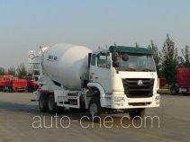 豪瀚牌ZZ5255GJBN3846D1型混凝土搅拌运输车