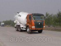 豪运牌ZZ5255GJBN4345C2型混凝土搅拌运输车